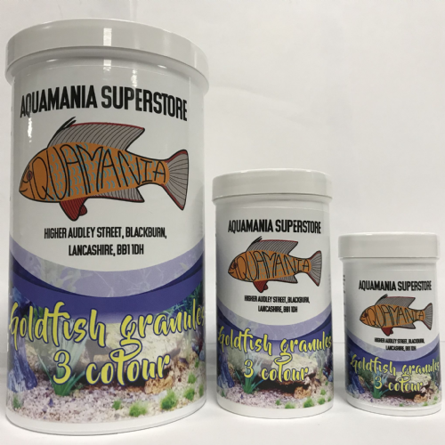 Aquamania Goldfish Granules 3 Colour